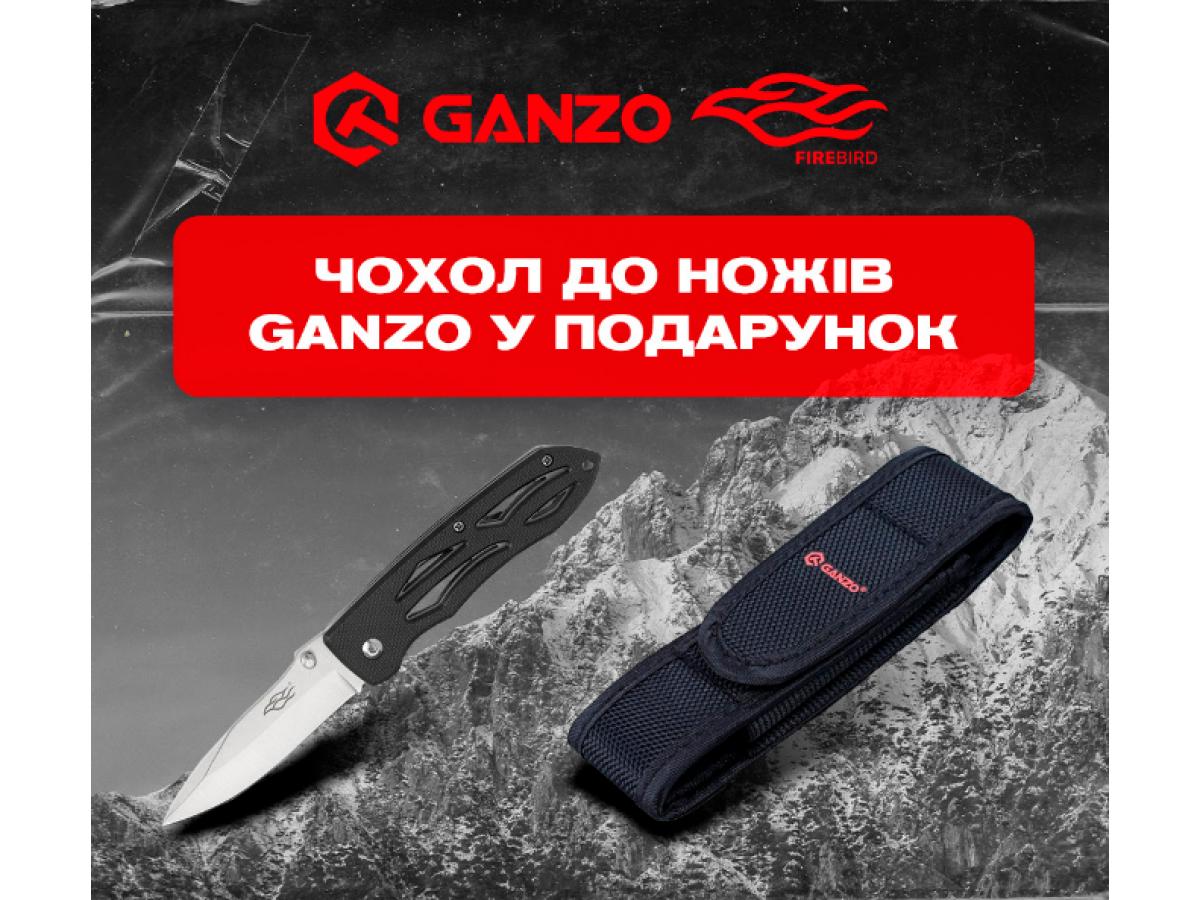 """Акция Ganzo """"Чехол в подарок"""""""