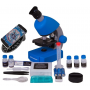 Микроскоп Bresser Junior 40x-640x Blue