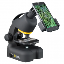 Мікроскоп National Geographic 40x-640x (с адаптером для смартфона)