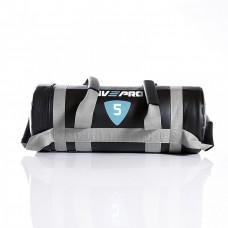Мешок для кроссфита LivePro POWER BAG черный/серый, 5кг