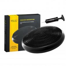 Балансувальна подушка (сенсомоторна) масажна 4FIZJO 4FJ0021 Black