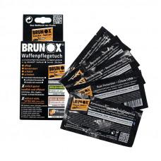 Салфетки Brunox Gun Care для ухода за оружием, 5шт в коробке