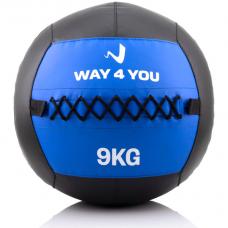 Набивной мяч Wall Ball (медбол) Way4you 9кг.