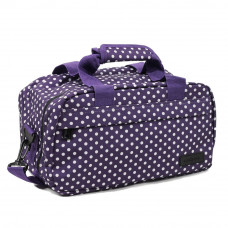 Сумка дорожная Members Essential On-Board Travel Bag 12.5 Purple Polka