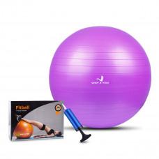 Мяч для Фитнеса Anti-Burst (Фитбол) 65см Way4you Фиолетовый