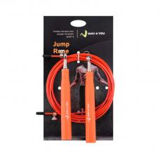 Скоростная Кроссфит Скакалка Ultra Speed 3 (оранжевая)