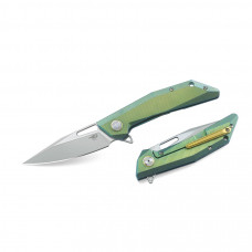 Складной нож Bestech Knife SHRAPNEL Green and Gold BT1802B