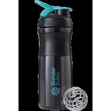 Спортивна пляшка-шейкер BlenderBottle SportMixer 820ml Black/Teal (ORIGINAL)