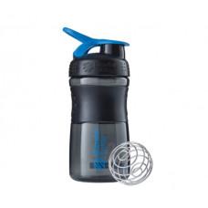 Спортивная бутылка-шейкер BlenderBottle SportMixer 590ml Black/Cyan (ORIGINAL)