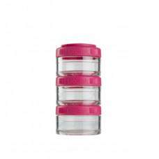 Контейнер спортивный BlenderBottle GoStak 3*60 Pink (ORIGINAL)