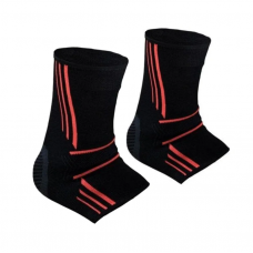 Эластический голеностоп Power System Ankle Support Evo PS-6022 M Black/Orange
