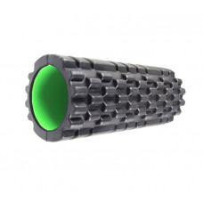 Роллер массажный Power System Fitness Foam Roller PS-4050 Black/Green