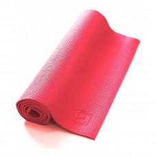 Коврик для йоги LiveUp PVC YOGA MAT, LS3231-04p, розовый