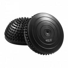 Полусфера массажная балансировочная (массажер для ног, стоп) 4FIZJO Balance Pad 16 см 4FJ0108 Black