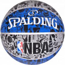 М'яч баскетбольний Spalding NBA Graffiti Outdoor Size 7