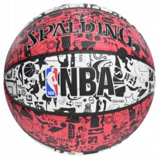 Мяч баскетбольный Spalding NBA Graffiti Outdoor Size 7