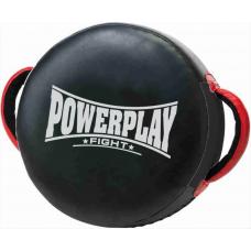 Макивара круглая PowerPlay 3080 Черная PU (40 * 12см)