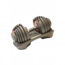 Гантель з регульованою вагою 4,5 - 41 кг LS2315-41