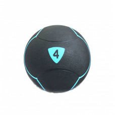 Медбол Livepro SOLID MEDICINE BALL черный 4кг