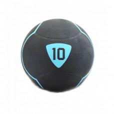 Медбол Livepro SOLID MEDICINE BALL черный 10кг