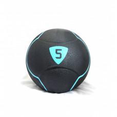 Медбол Livepro SOLID MEDICINE BALL черный 5кг