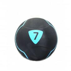 Медбол Livepro SOLID MEDICINE BALL черный 7кг