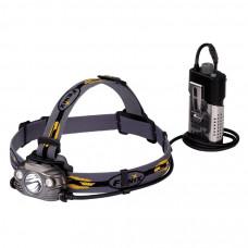 Налобный фонарь Fenix HP30R Cree XM-L2, XP-G2 (R5), серый