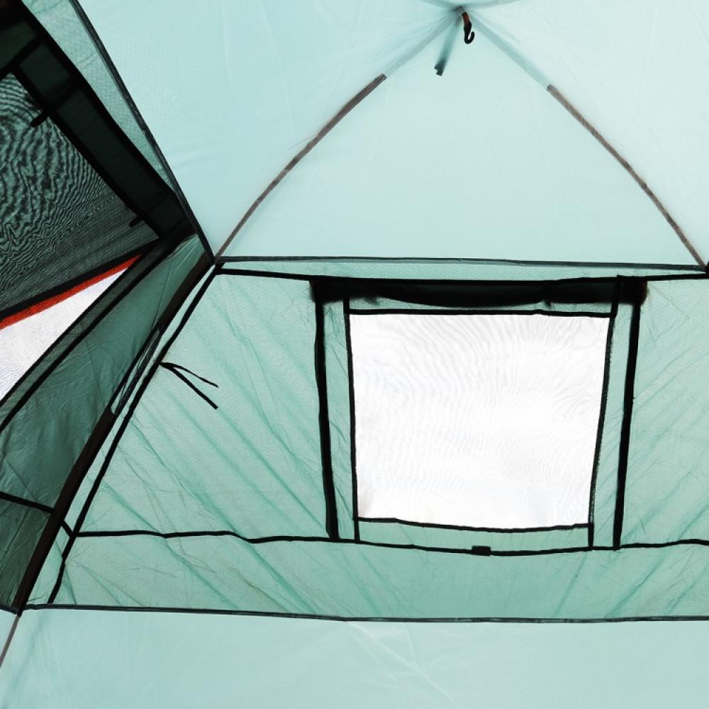 Палатка туристична чотирьохмісна SportVida 415 x 240 см SV-WS0022