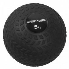 Слэмбол (медицинский мяч) для кроссфита SportVida Slam Ball 5 кг SV-HK0347 Black