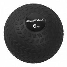 Слэмбол (медицинский мяч) для кроссфита SportVida Slam Ball 6 кг SV-HK0348 Black