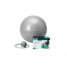 Мяч для фитнеса PowerPlay 4003 65см Light-grey