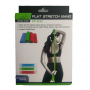 Стрічка еспандер PowerPlay 4112 Medium зелена (200*15*0.5 см, 9кг)
