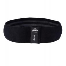 Резинка для фитнеса тканевая PowerPlay 4111 L Heavy (d_84cm) черный