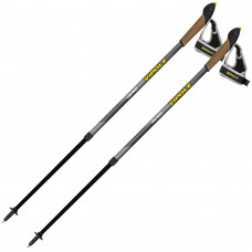 Палки для скандинавской ходьбы Vipole Vario Novice Grey S2033