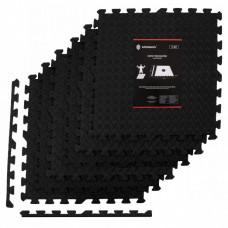 Мат-пазл (ласточкин хвост) Springos Mat Puzzle EVA 180 x 120 x 1.2 cм FM0004 Black