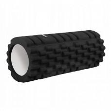 Массажный ролик (валик, роллер) Springos 33 x 14 см FR0013 Black