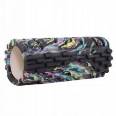 Массажный ролик (валик, роллер) Springos Mix Color 33 x 14 см FR0018