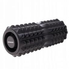 Массажный ролик (валик, роллер) Springos 33.5 x 13.5 см FR0006 Black