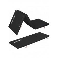 Мат гимнастический складной Springos 180 x 60 x 5 cм FA0041 Black