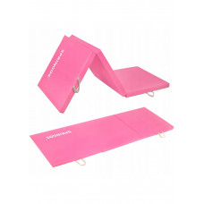 Мат гимнастический складной Springos 180 x 60 x 5.5 cм FA0061 Pink