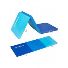 Мат гимнастический складной Springos 180 x 60 x 5.5 cм FA0063 Blue