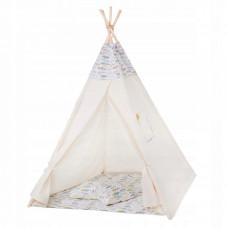 Детская палатка (вигвам) Springos Tipi XXL TIP14 White/Mix