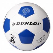 Футбольный мяч Dunlop Football белый+синий, D01842-b