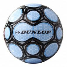 Футбольный мяч Dunlop Football голубой+черный, D64420-b