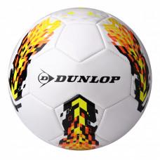 Футбольный мяч Dunlop Soccer ball белый+желтый, D46362-y