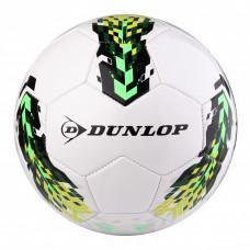 Футбольный мяч Dunlop Soccer ball белый+зеленый, D46362-grn