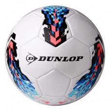 Футбольный мяч Dunlop Soccer ball белый+синий, D46362-b