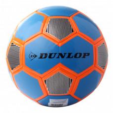 Футбольный мяч Dunlop Football голубой+оранжевый, D64420-bo