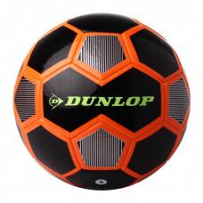 Футбольный мяч Dunlop Football черный+оранжевый, D64420-blk