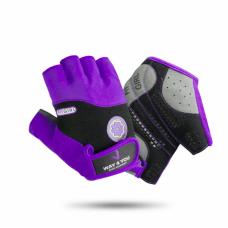 Перчатки для фитнеса Женские Way4you Purple w-1727